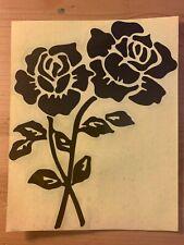 Black Rose Logo Auto Car Vinyl Decor Graphics Removable Art Decal Sticker