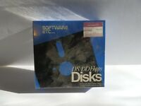 """ITHistory (198X) MEDIA: Diskettes (Box of 10)  (Software Etc)  (5.25"""") Sealed"""