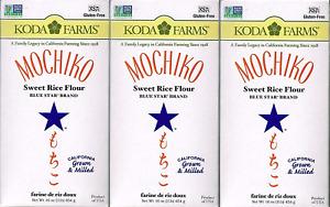 Mochiko Sweet Rice Flour Pack of 3