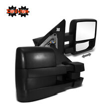 Manual Towing Extended Side Mirrors Pair Left Right 04-08 F150 FX4 FX2 2WD