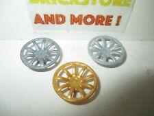 Lego - Wheel Cover 9 Spoke - 24mm D. 62701 - Choose Color & Quantity