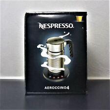 NEU Nespresso AEROCCINO 4 ORIGINAL Milchaufschäumer OVP komplett mit Netzteil