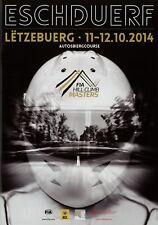 Rennprogramm FIA Hill Climb Masters Bergrennen Eschdorf Luxemburg 10/14 2014