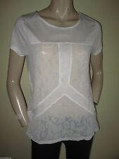 H&M Hip Length Short Sleeve Tops & Shirts for Women