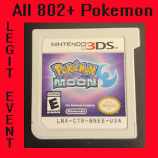 Pokemon Moon Loaded With All 802 + 100+ Legit Event Pokemon Unlocked - Authentic