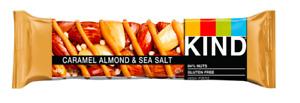 Kind Caramel Almond & Sea Salt Bars 24 x 40g Best Before 26/09/21 Gluten Free