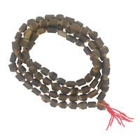 Hare Krishna Fair Trade Tulsi Seed 108 Japa Mala Beads Hand Made in Nepal