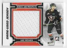 13/14 ITG HEROES & PROSPECTS 'MONTREAL' BLACK GAME JERSEY Jake Virtanen 1/1