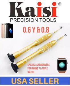 For iPhone 7 X 8 Screwdriver Y0.6,0.8 Repair watch Pentalobe open tools Tripoint