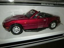 1:24 Motor Max Mazda MX-5 Typ NA Miata dunkelrot/dark red OVP