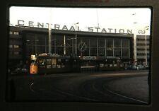 More details for 9 vintage 35mm slides of rotterdam centraal station trams & olau line ferry