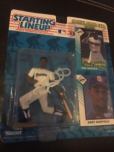 1993 Gary Sheffield Autographed Starting Lineup Action Figure