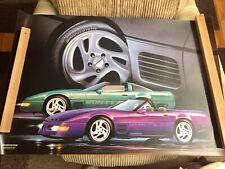 Bridgestone Calloway C4 Corvette Showroom Poster!