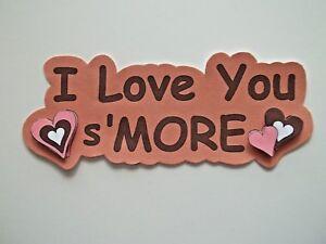 3D- U Pick- Love Family Titles Hearts Card Making Paper Embellishment