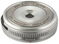 NEW Fujifilm X Mount Filter Lens XM-FL (S) Silver X series With Tracking