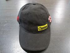 Clint Bower Nascar Strap Back Hat Cap Black Red Cheerios Racecar Racer Mens