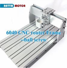 Diy Cnc 6040 Router Desktop Engraving Machine Frame Kit Sfu1605 Ballscrew80mm