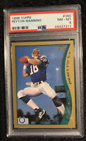 1998 Topps #360 Peyton Manning ROOKIE RC PSA 8 NM-MT *HOF*SHARP*INVEST NOW🔥📈