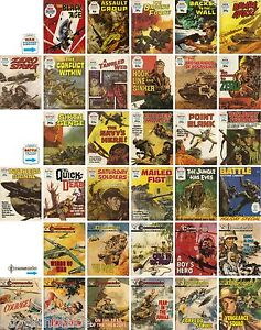 WAR / BATTLE PICTURE LIBRARY & COMMANDO 1962 - 83 ( BUY 2 - GET 2 MORE FREE! )