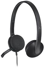 Logitech USB Headset H340 for Internet Calls and Music