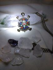 CAPTIVATING TURTLE NECKLACE Blessings/balance  WITCH SPELL MAGIC AMULET TALISMAN