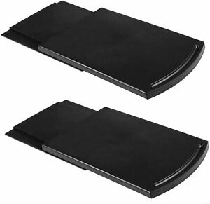 Kitchen Caddy Sliding Coffee Tray Mat,12 Inch Under Cabinet Appliance (2 Pack)