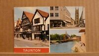 Postcard posted 1981 Somerset, Taunton, 3 views