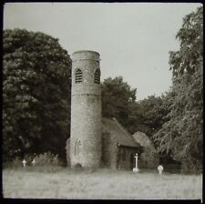 Glass Magic Lantern Slide KESWICK CHURCH C1930 PHOTO THIRTIES