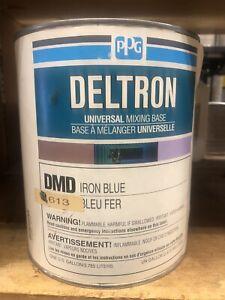 PPG DELTRON DMD613 1 Gallon Iron Blue  MIXING BASE
