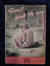 DORIS FINDS THE WAY by EILEEN HEMING - LUTTERWORTH PRESS 1949 - H/B WITH JACKET