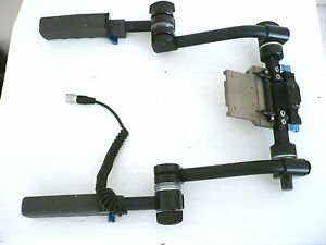 Chrosziel 401-87 HD support plate/baseplate with handgrips for Panasonic HPX/HDX