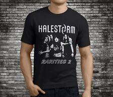 New Popular Halestorm Rock Band Black T-Shirt Size S-3XL