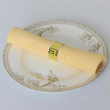"19"" Polyester Napkins Table Dinner Cloth Napkin Poly Cotton Hotel Wedding Party"