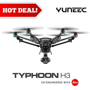 """Yuneec Typhoon H3 Hexacopter with 1"""" Sensor 4K Camera, ST16S Controller"""