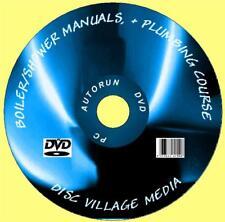 1700 Manuali di Servizio del Gas Caldaia Riscaldamento/IDRAULICA Tech + guide utente NUOVO PC-DVD