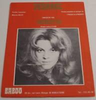 Partition vintage sheet music NICOLETTA : Jesabel * 70's