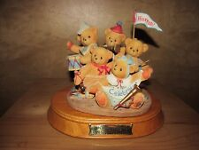 BEAUTIFUL CHERISHED TEDDIES COMMEMORATIVE 5 YEAR ANNIVERSARY STRIKE UP THE BAND
