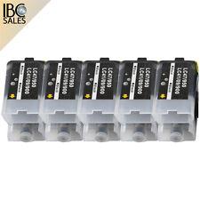 5 Patronen für Brother MFC-1180 ME ? MFC-1185 LH ? MFC-1190 CE LC-900 schwarz
