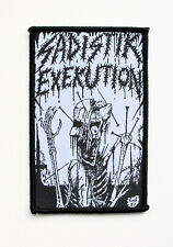 SADISTIK EXEKUTION - 1987 Demo - Official Woven Patch / Bestial Warlust Vomitor