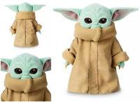 12'' Star Wars Baby Yoda Plush Toy The Mandalorian Soft Stuffed Dolls Kids Gifts