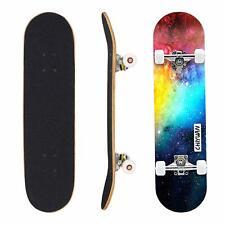 "Geelife Skateboard 7 Layers Decks 31""x8"" Pro Complete Skate Board Maple Wood ..."