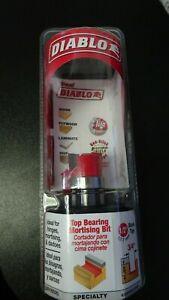 Diablo DR16520  Top Bearing Mortising Bit