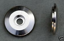 "Kronos Aluminum 1-1/8"" extralite Top Cap (9 grm) Silver"