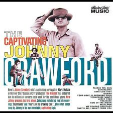 FREE US SHIP. on ANY 2 CDs! ~Used,VeryGood CD Johnny Crawford: The Captivating J