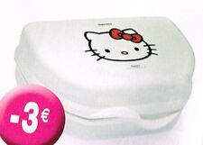 Boite Snack Hello Kitty - Tupperware **NEUF**