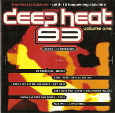 Deep Heat 93/Apache Indian shaggy Ice Cube Blake Baxter bizarre inc