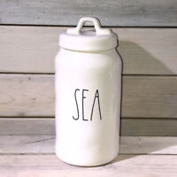 Rae Dunn by Magenta ~ SEA Large Ceramic Canister ~ NWT 2020 Release
