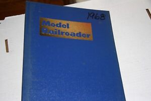MODEL RAILROADER MAGAZINE PARTIAL YEAR 1968 IN BINDER, MOST ISSUES IN GOOD SHAPE