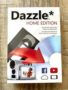 NEW Dazzle Home Edition PC Digital Video Transfer Software SEALED!