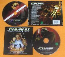 CD SOUNDTRACK STAR WARS John Williams 2005 UK SONY SK 94220 CD+DVD no mc (OST6)